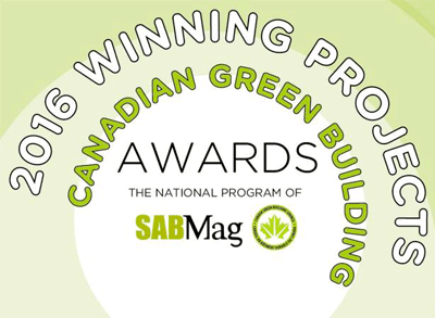 Canadian Green Building Award 2016