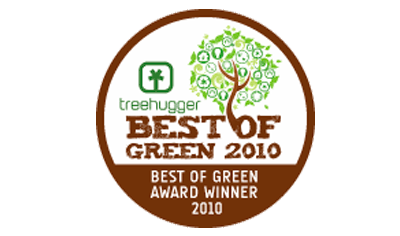 Best of Green Award 2010 in Design & Architecture - Treehugger Media