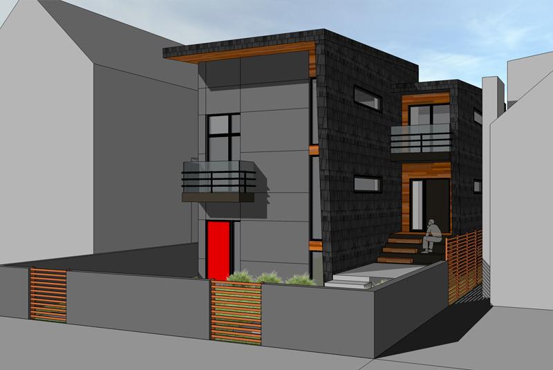 Net Zero Duplex, Vancouver - Marken DC Zero Energy Home Design Model Html on