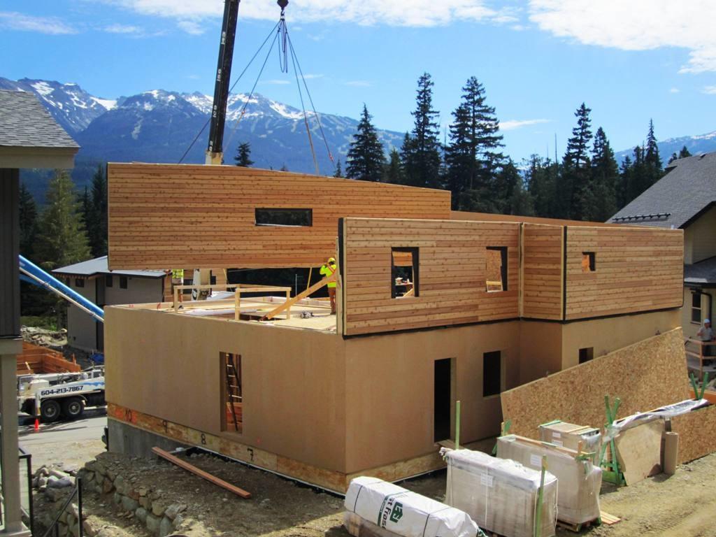 Home Wall Construction : Rainbow passive house whistler marken dc