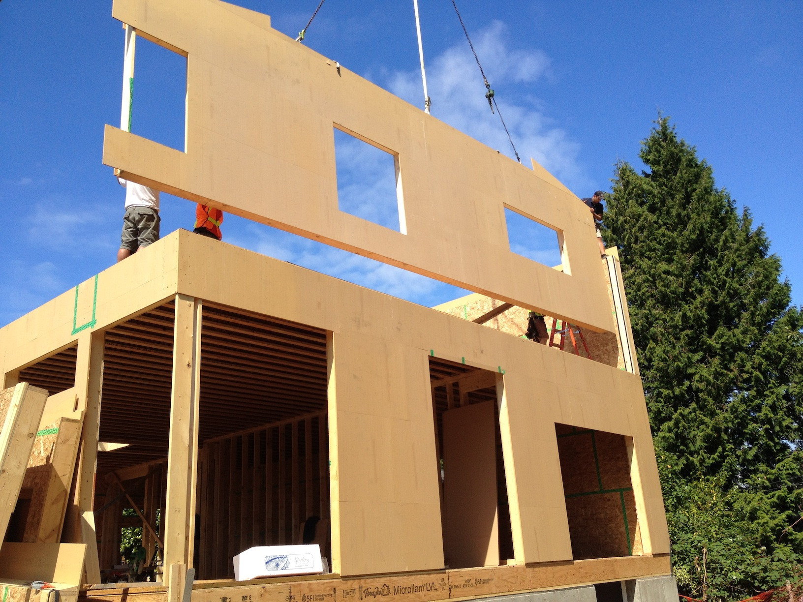 passive house south surrey - marken dc