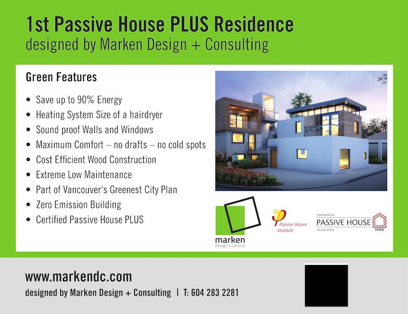 Passive House Features
