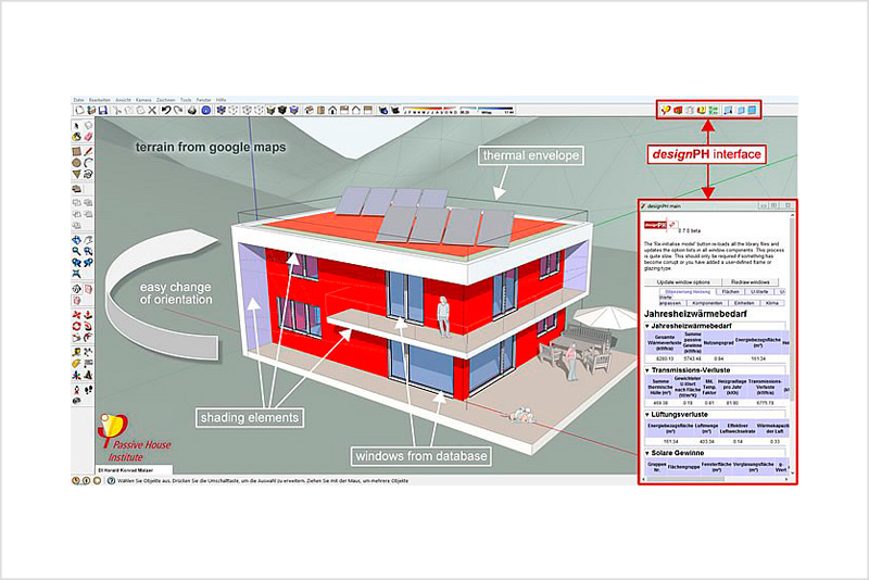 PHPP Model – Passive House Energy Modelling software