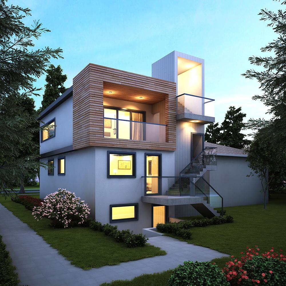 Passive house and net zero design marken dc for Passive solar house plans canada
