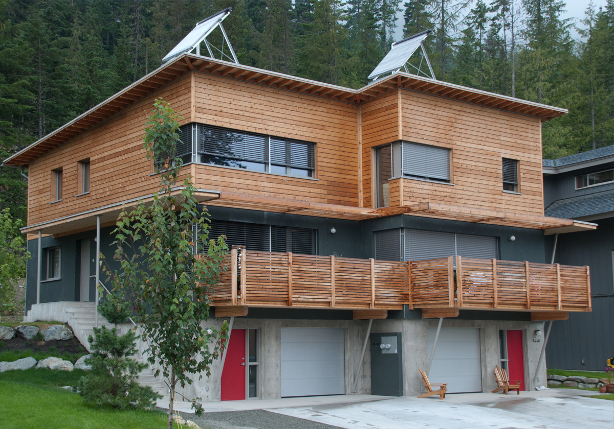 Passive house and net zero design marken dc for Bc home plans